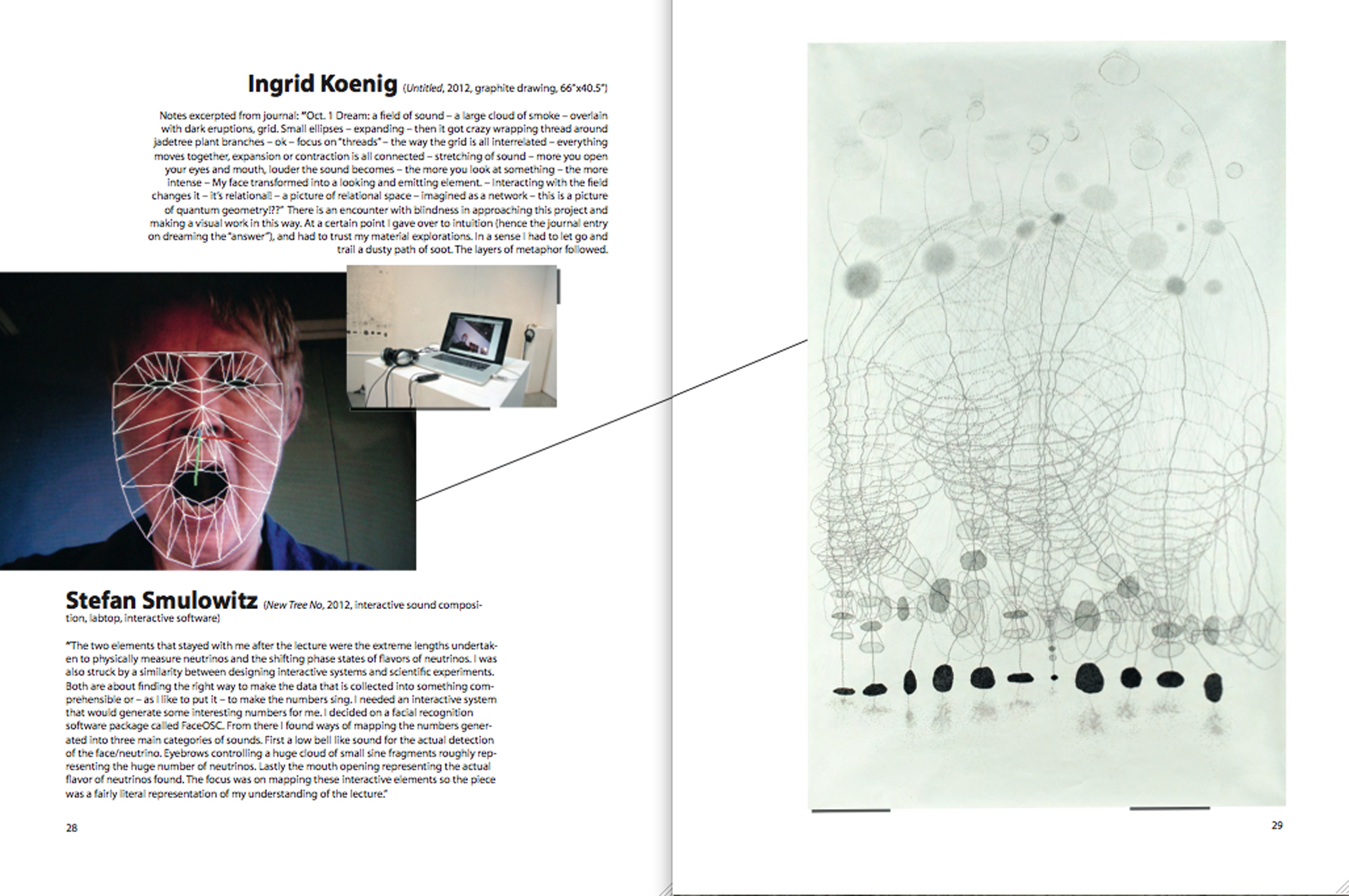 Stefan Smulovitz' work transferred to Ingrid Koenig for response